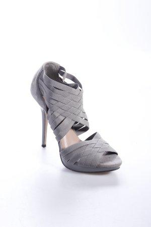 Zara High Heels grüngrau