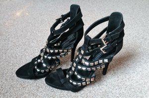 Zara High Heels mit silbernen Nieten, Gr. 39