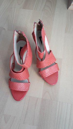Zara High Heels orange