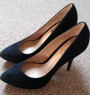 Zara High Heels Plateau Pumps schwarz, Gr. 39