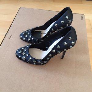 Zara High Heels Pumps Gr. 38 neu Schuhe Party schwarz