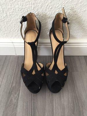 Zara High-Heels Riemchen-Sandalen 39