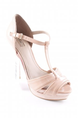 Zara High Heels rosé Party-Look
