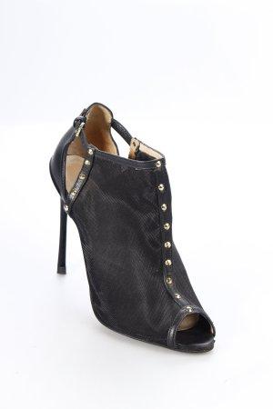Zara High Heels schwarz extravaganter Stil