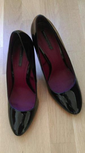 ZARA High heels schwarz Lack Größe 41 neu