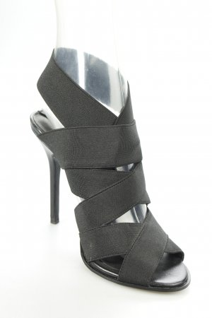 Zara High Heels schwarz Party-Look