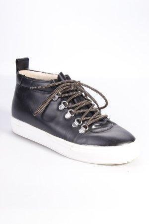 Zara High Top-Sneaker Lederoptik