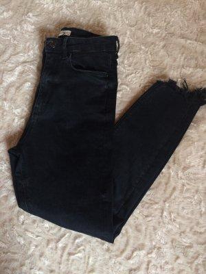 Zara high waist destroyed skinny Jeans