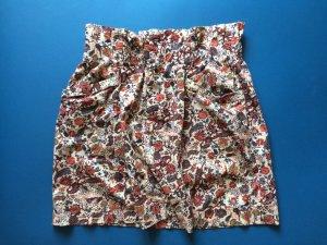Zara High Waist Floral Skirt