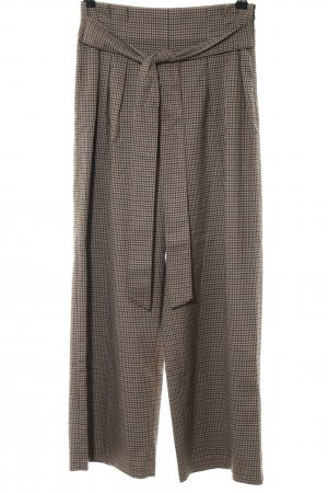 Zara Pantalone a vita alta motivo a quadri stile classico