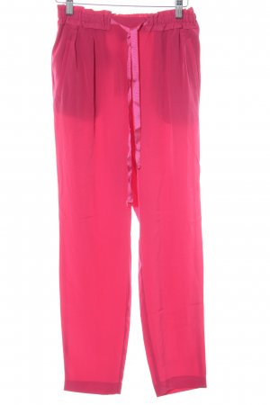 Zara High-Waist Hose magenta Schimmer-Optik