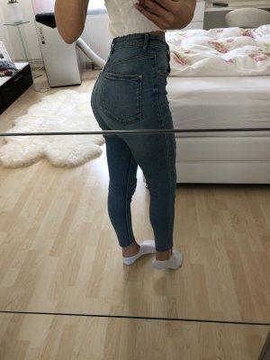 Zara Hoge taille jeans azuur