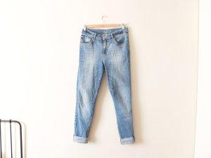 Zara high waist Jeans Gr. 40 skinny blue jeans röhre