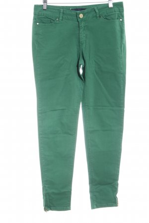 Zara Hoge taille jeans groen casual uitstraling