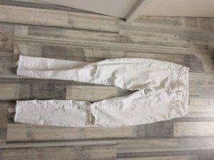 Zara. high waist jeans  hose weiss neu Gr. 34
