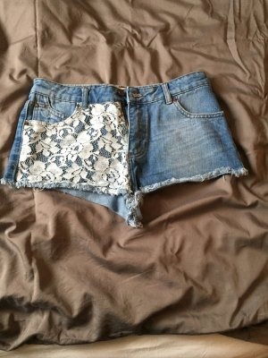 Zara high waist Jeans Shorts