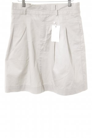 Zara High Waist Rock hellbeige Casual-Look