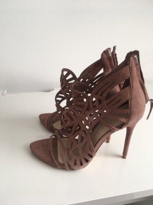 Zara Highheels in Altrose