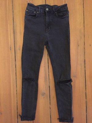 Zara hight waist super skinny jeans