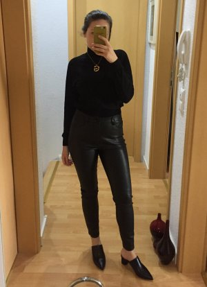 Zara Highwaist Lederhose S