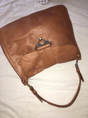 Zara Hobo Bag cognac