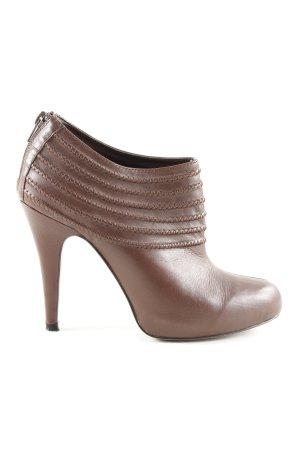 Zara High-Front Pumps brown casual look