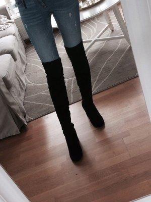 Zara Cuissarde noir faux cuir