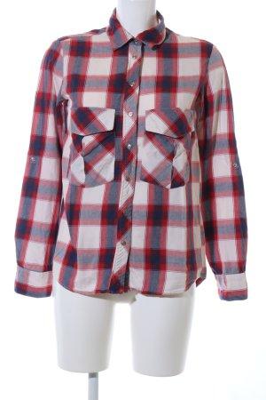 Zara Chemise de bûcheron imprimé allover style décontracté