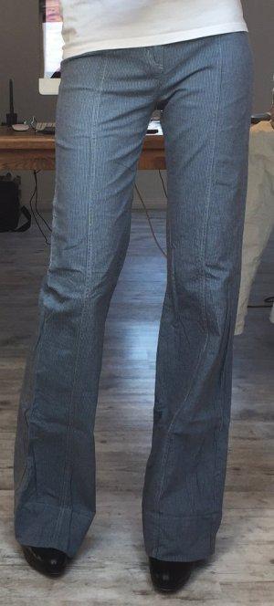 Zara Hose 36 in marineblau mit hohem Bund