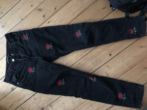 Zara Boyfriend Trousers black