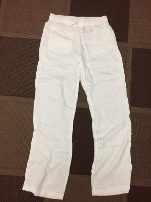 Zara Linen Pants white