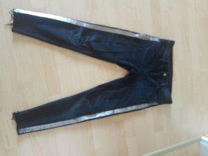 Zara Jeans a sigaretta nero-argento