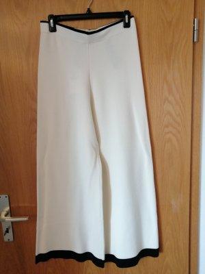 Zara Woman Pantalone Marlene bianco sporco