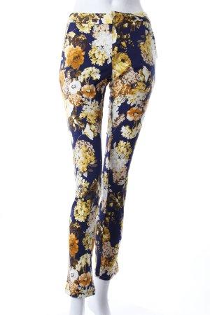 Zara Hose Blumen-Muster