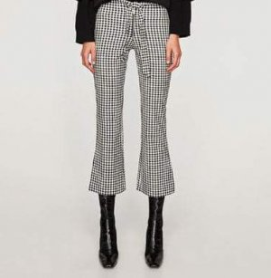Zara 3/4 Length Trousers black-white