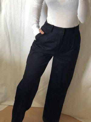 Zara Pantalon chinos bleu foncé-bleu