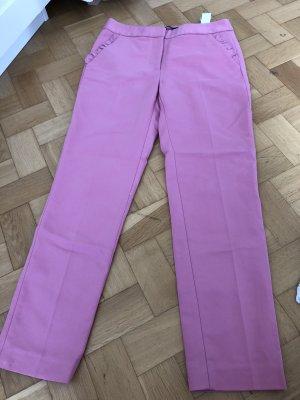 Zara Pantalón capri rosa