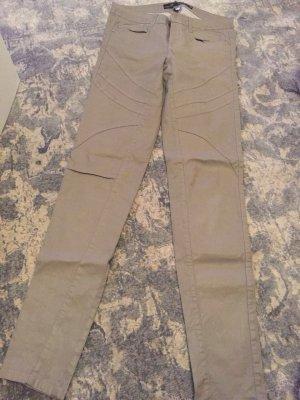 Zara Jeans gris vert-kaki