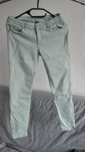 Zara Hose grün ankle 7/8 crop petite