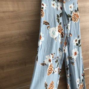 Zara Hose in Blumen Muster