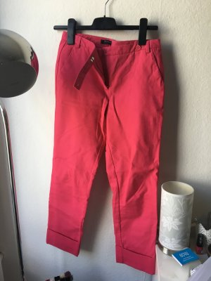 Zara Trousers neon red-pink