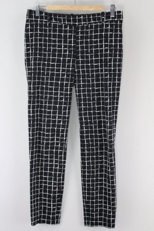 Zara Pantalon en jersey noir-blanc