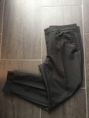 Zara Woman 7/8 Length Trousers black