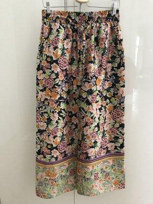 Zara Woman 3/4 Length Trousers multicolored