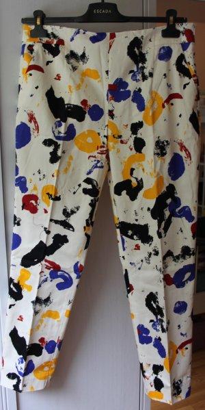 Zara Pantalon multicolore coton