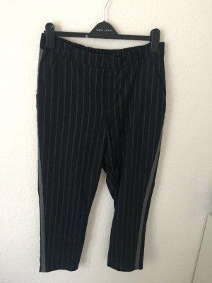 Zara Trafaluc 7/8-broek donkerblauw-zilver