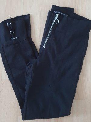 Zara Hose Pants Jeans boohoo schwarz