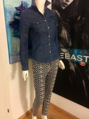 ZARA Hose und benetton Jeans Bluse Hemd 34/36 coole Kombination