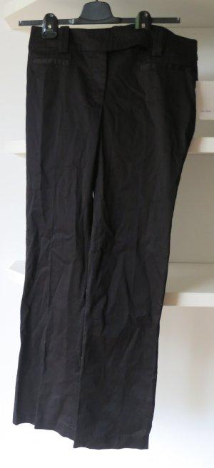Zara Hose Woman Basic schwarz neu mit Etikett Gr 38 40 S M