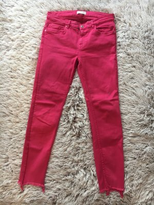Zara Jeans magenta